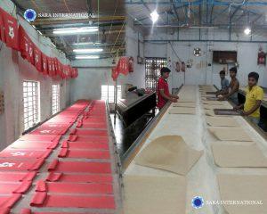 Sara International Bag printing