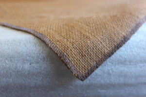 Threaded corners of Jute