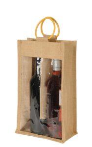 2 Bottle window type bag