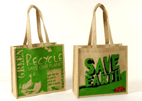 Jute carry bags for distribution